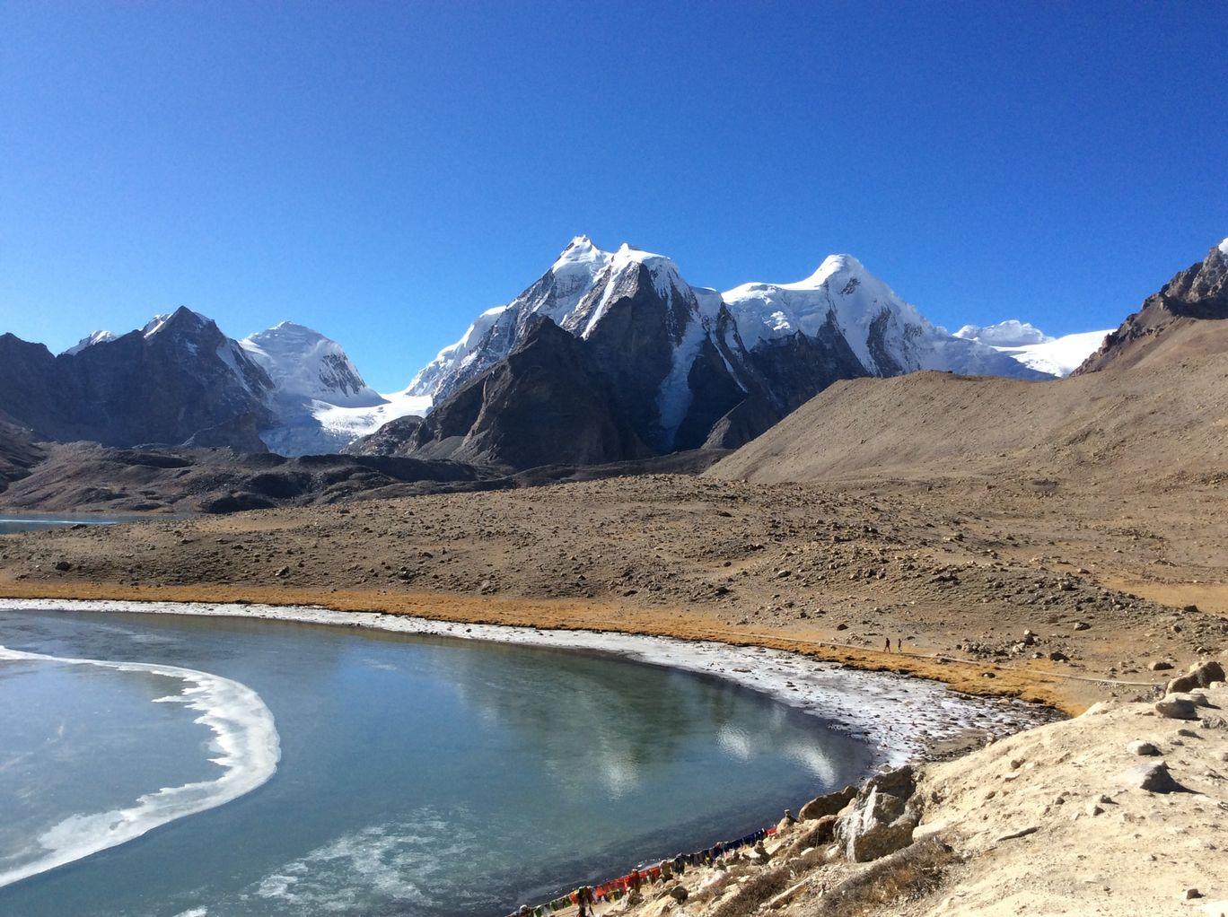 Photo of Gurudongmar Lake By Hardik Bhakhar