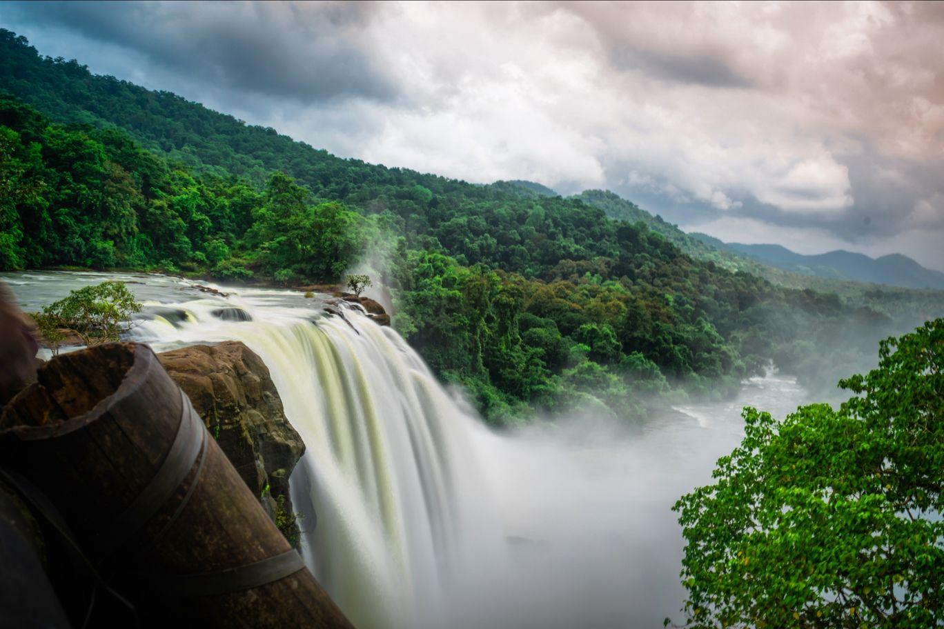 Photo of Athirapally Falls By Rishab Tripathy