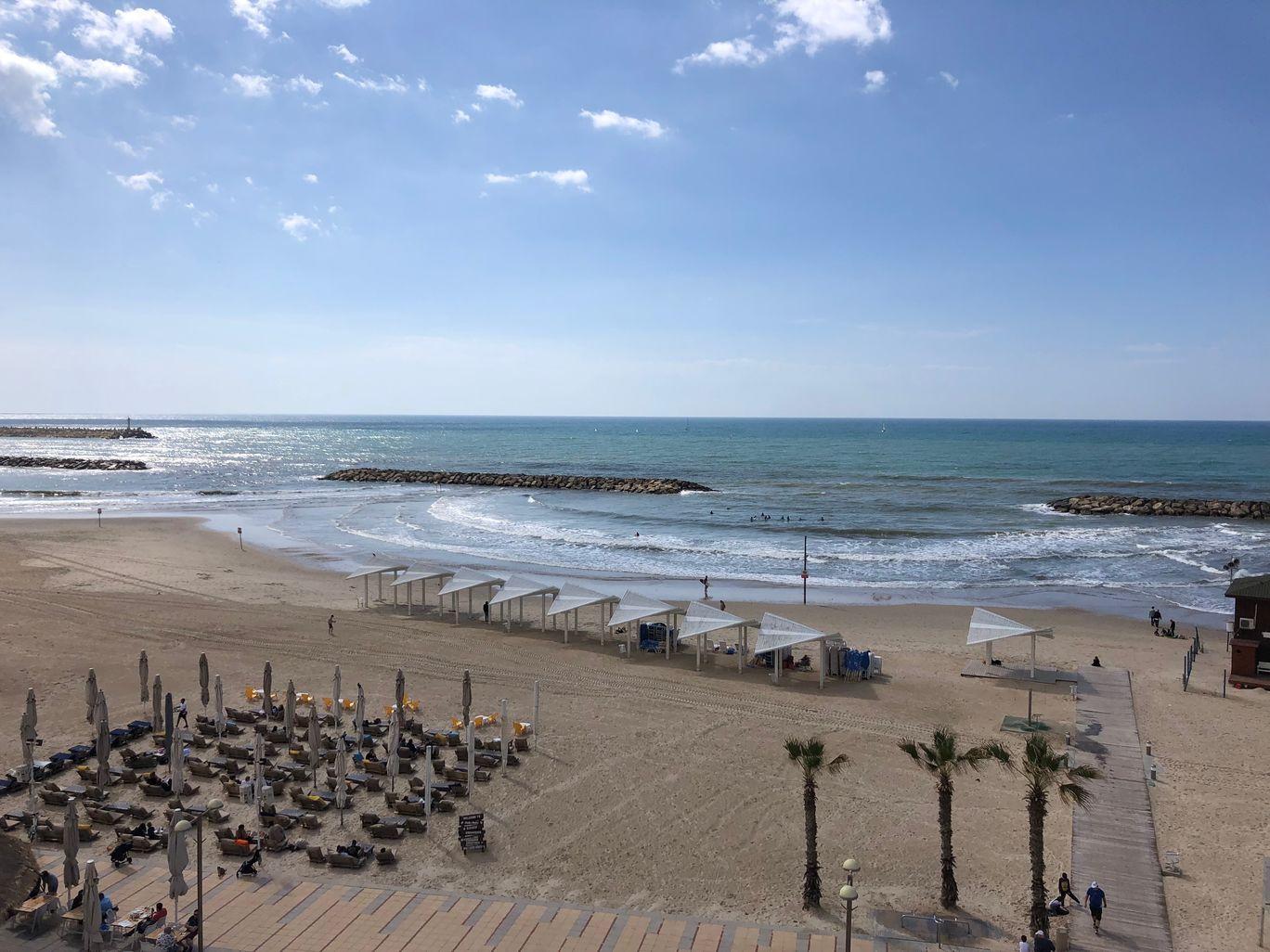 Photo of Herzliya beach By Vinita Sanghi