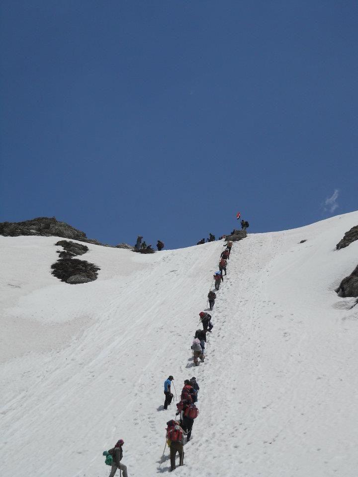 Photo of SARPASS trek from Kasol YHAI base camp By Sudheer N G