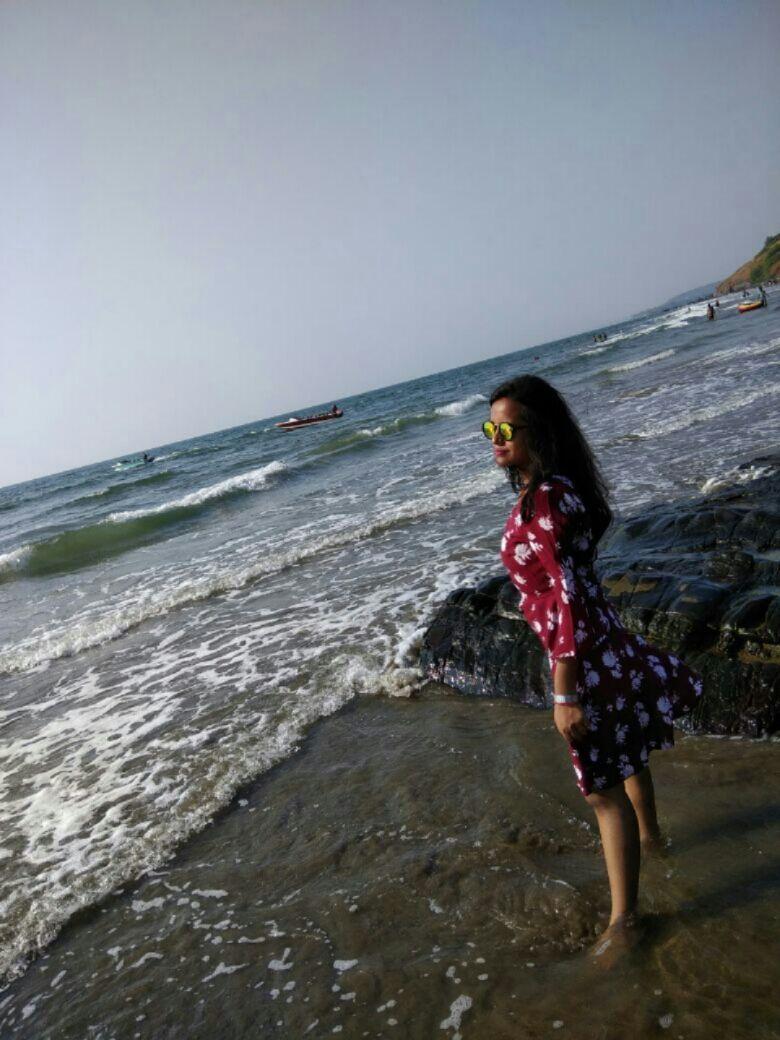 Photo of Morjim Beach Road By Manali Rajvansh