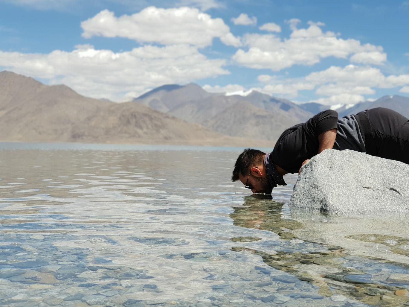Photo of Pangong Lake By Mohit Singh Pathania