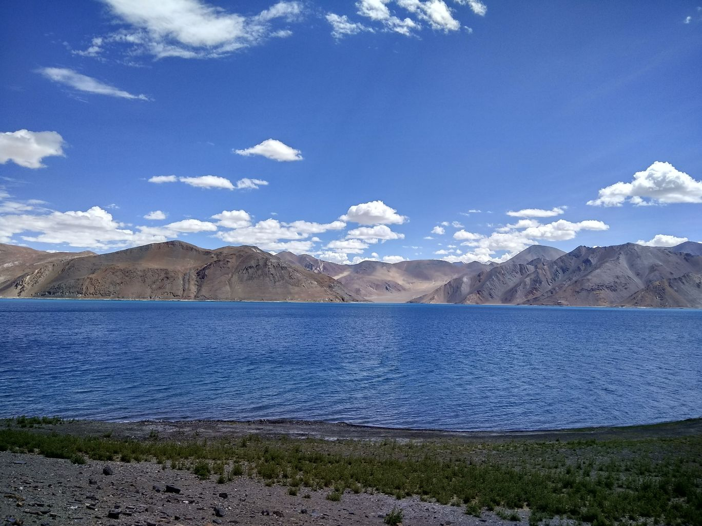 Photo of Pangong Lake By Farooz Bhat