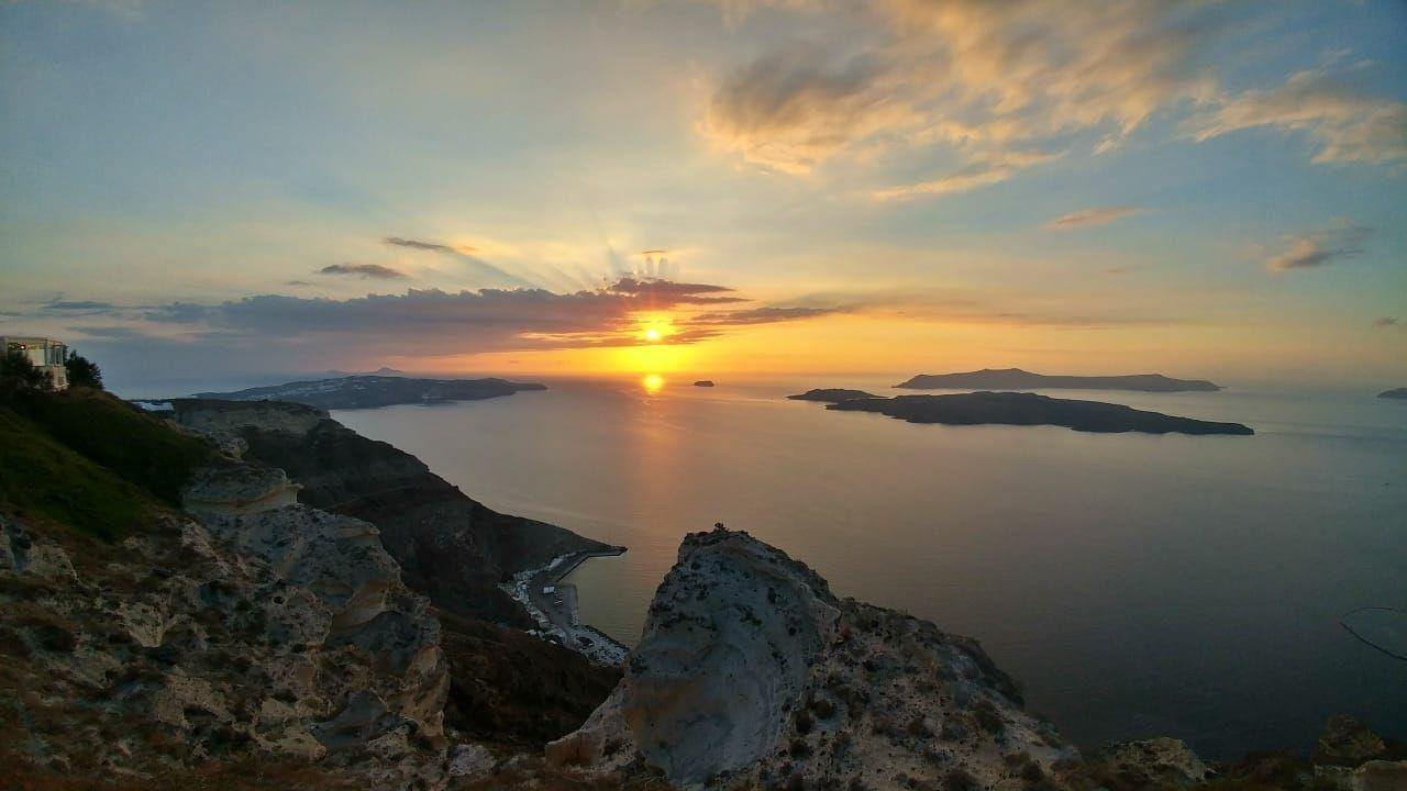 Photo of Santorini By Malika Bhavnani