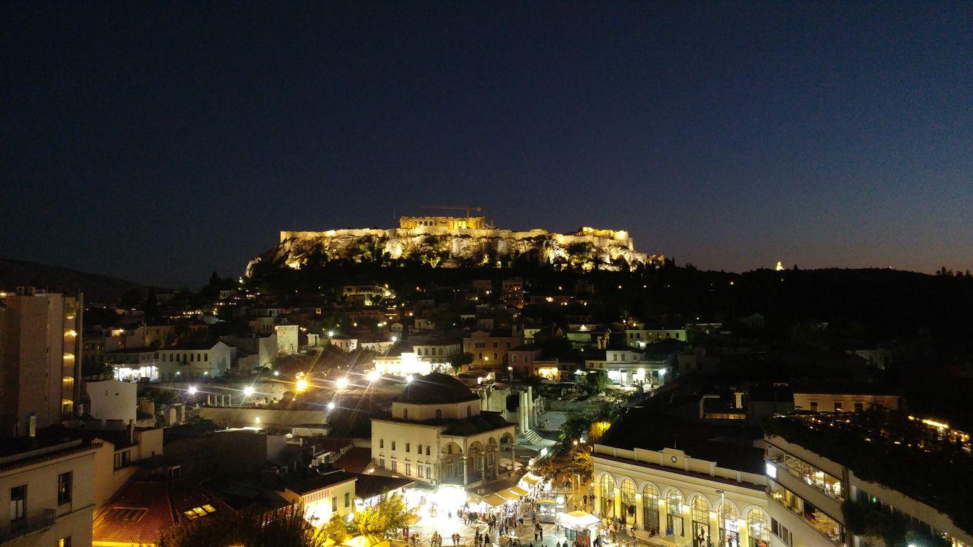 Photo of Acropolis of Athens By Malika Bhavnani
