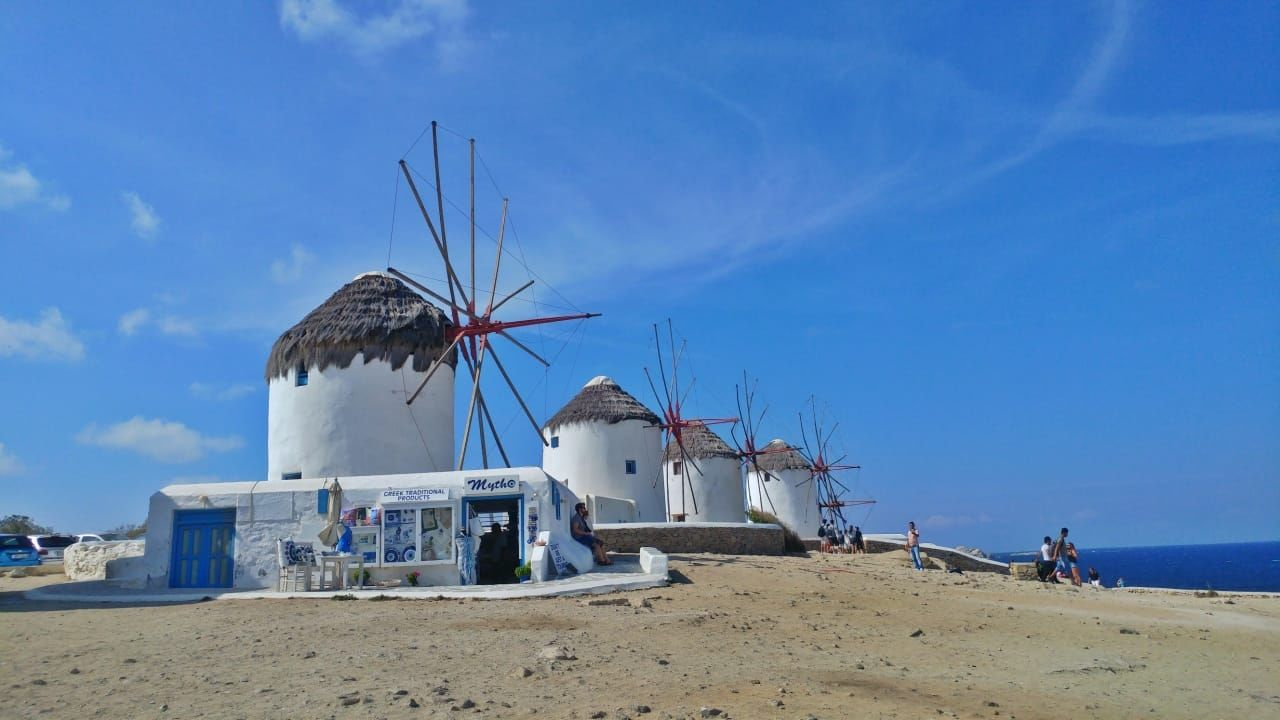 Photo of Mykonos By Malika Bhavnani