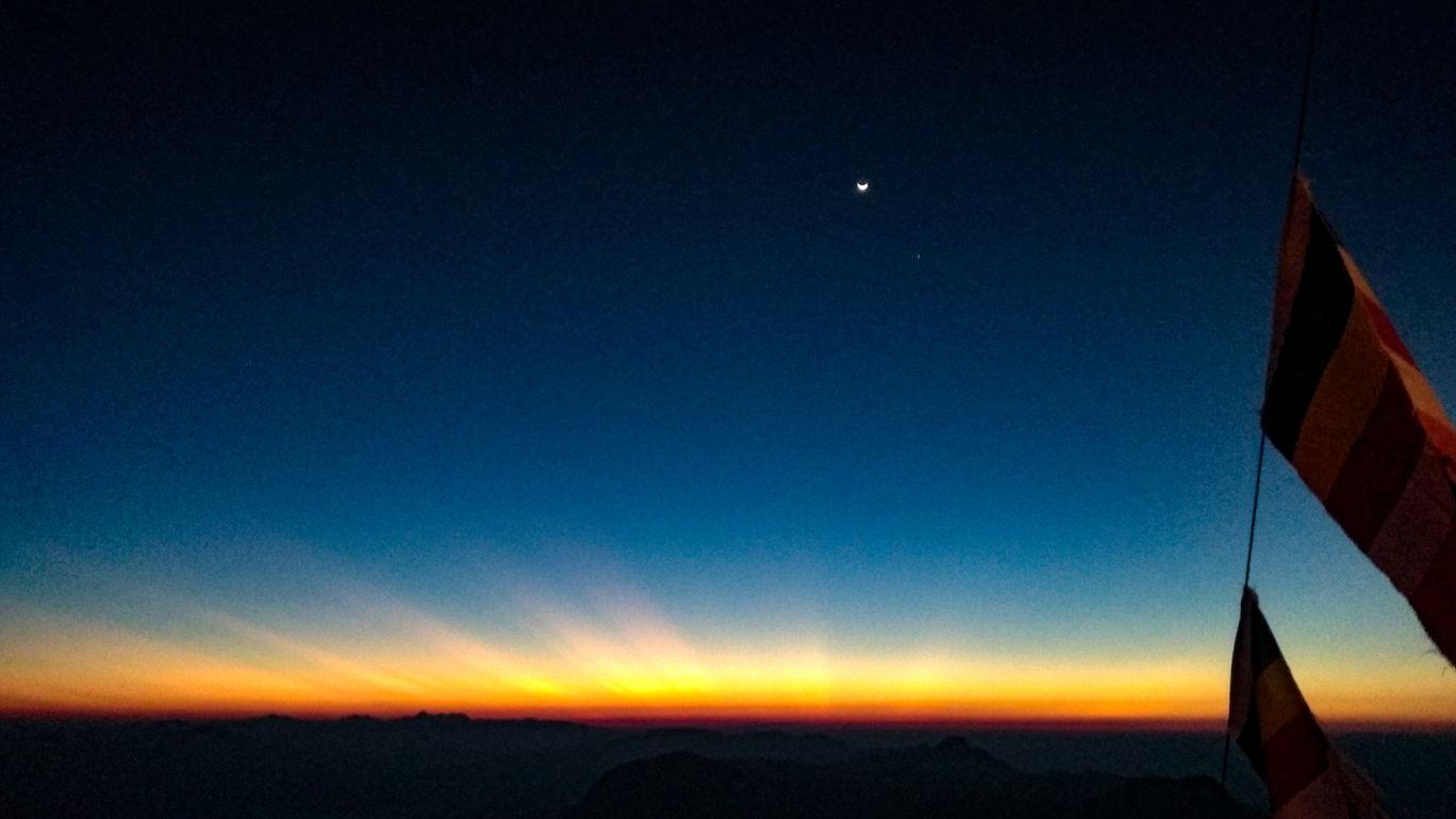 Photo of Adam's Peak By Sarvesh Gupta