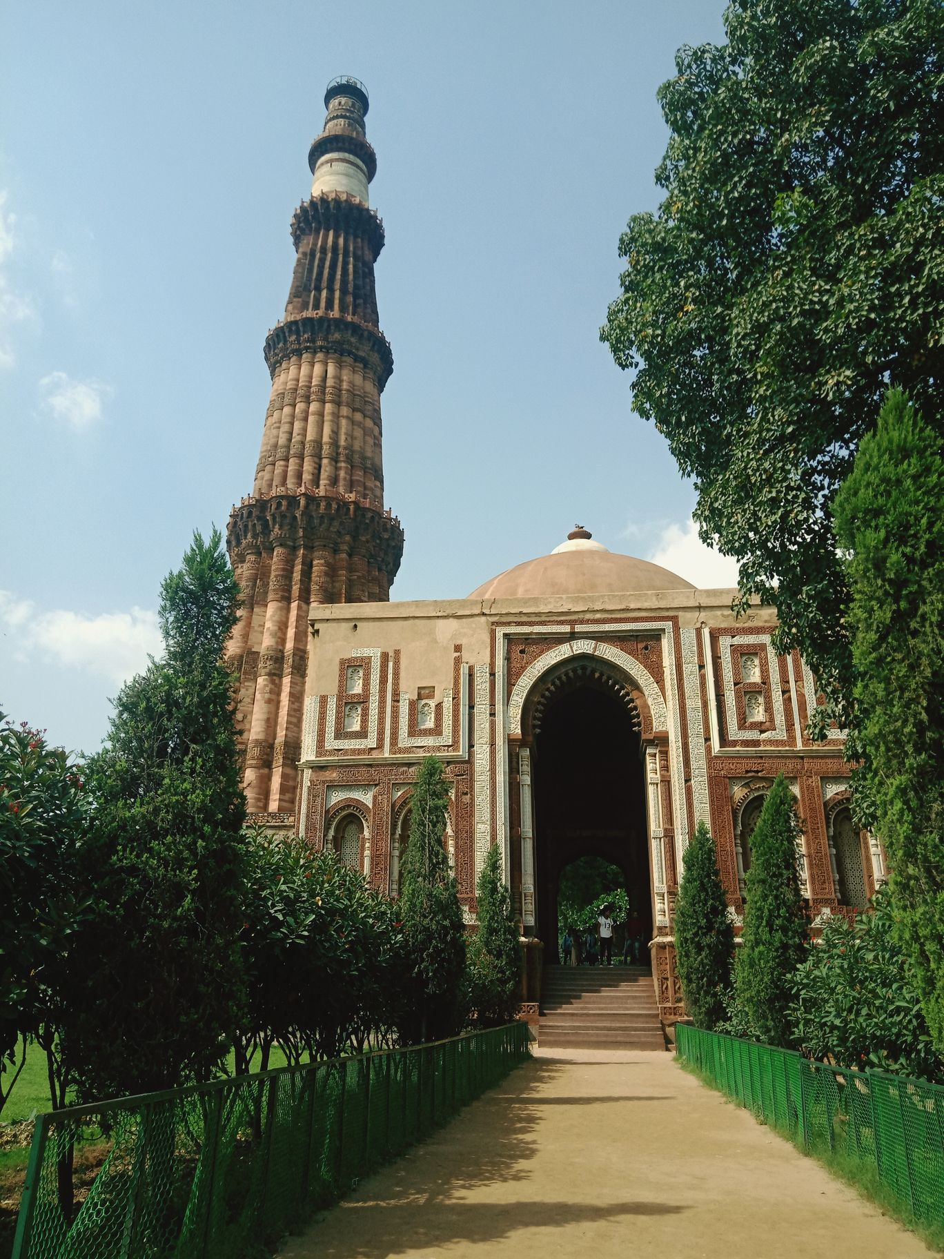 Photo of Qutub Minar By Mohammad Saif