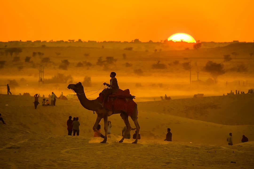 Photo of Sam Sand Dunes By Dheeraj Ubhayakar