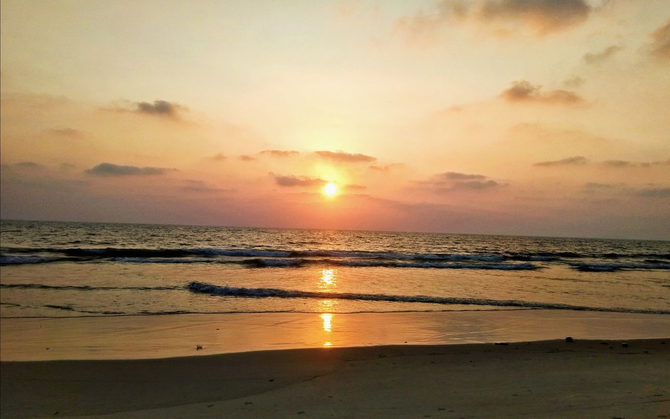Photo of Sunset Beach By Ruhan Khan