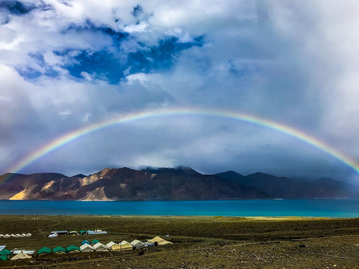 Photo of Pangong Lake By Aryabhatta Naskar