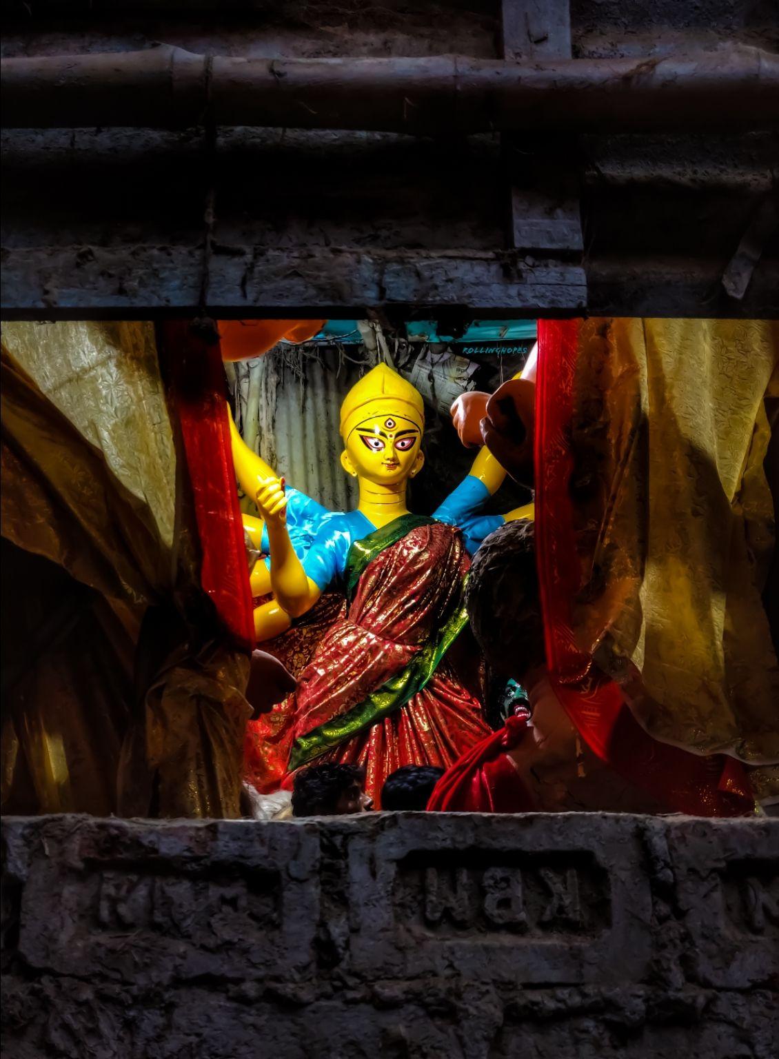 Photo of Kumartuli Idol Maker By Jyoti Singh