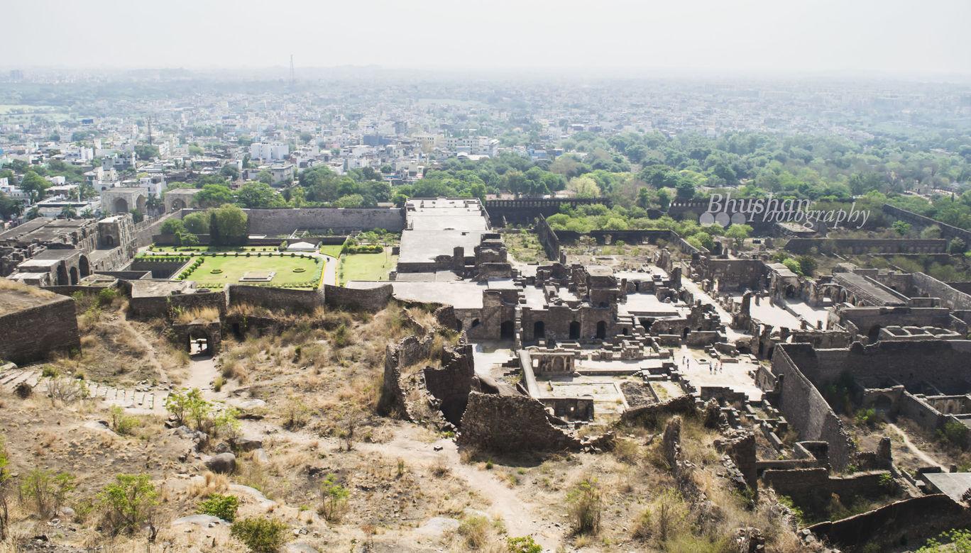 Photo of Golconda Fort, Hyderabad By Shashi Bhushan