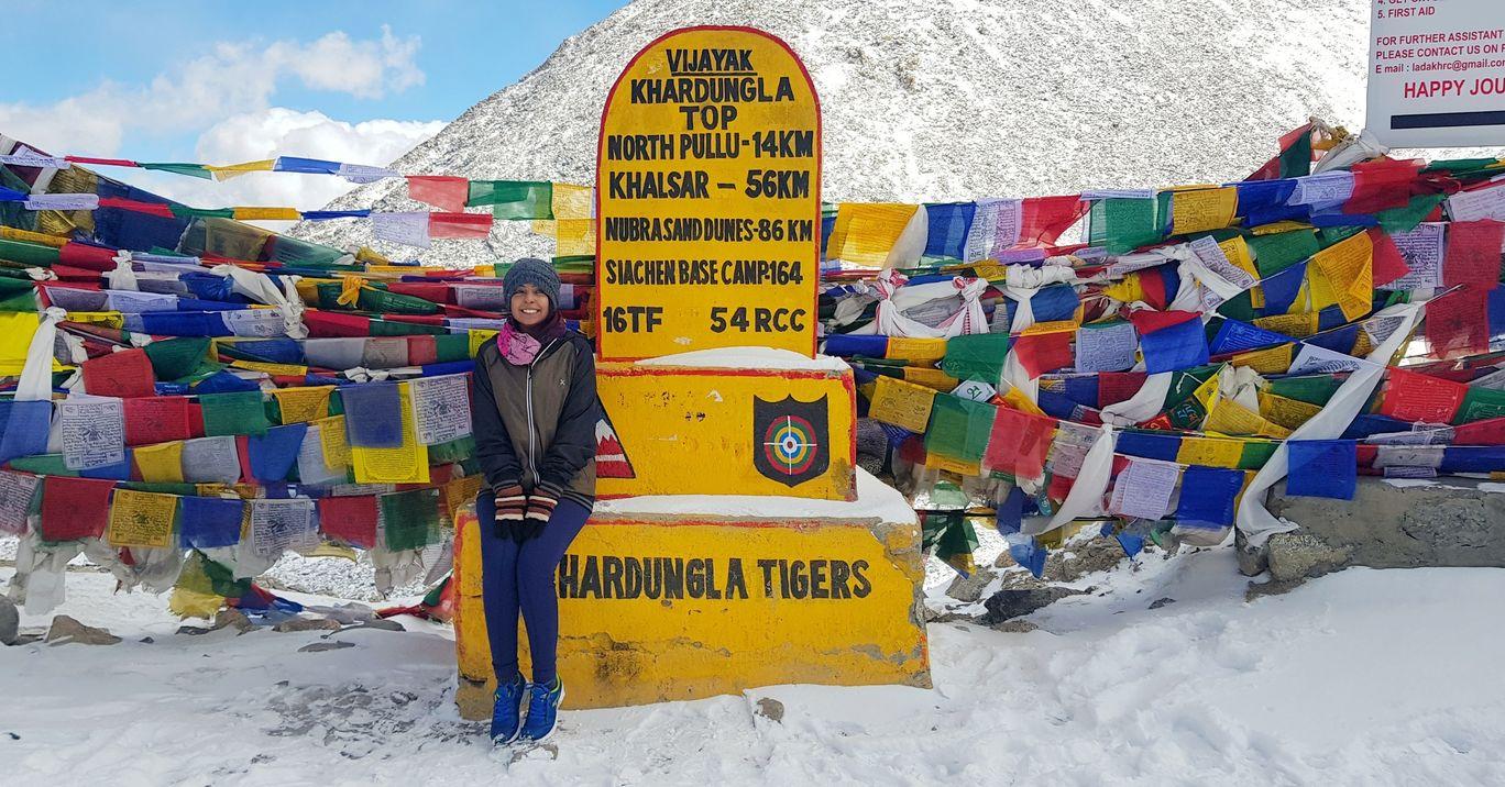 Photo of Khardung La By Anjali