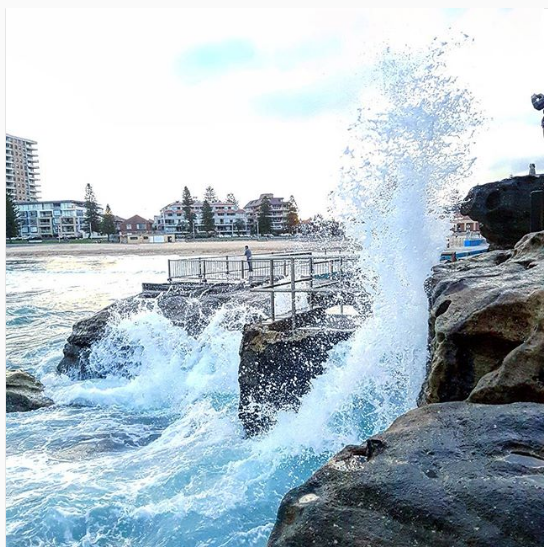 Photo of Bondi Beach NSW By Gurkreeti