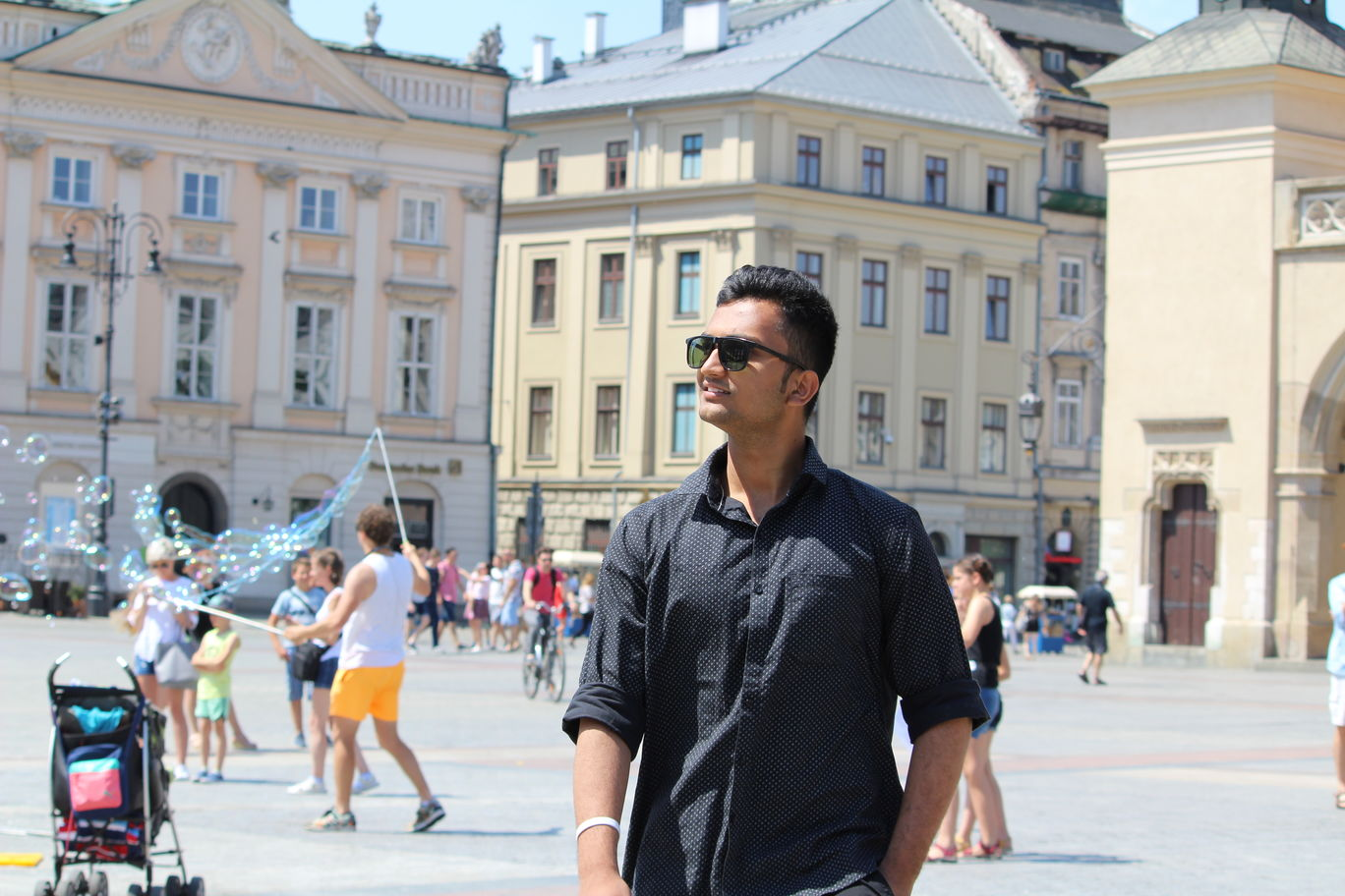 Photo of Main Square By Vinod