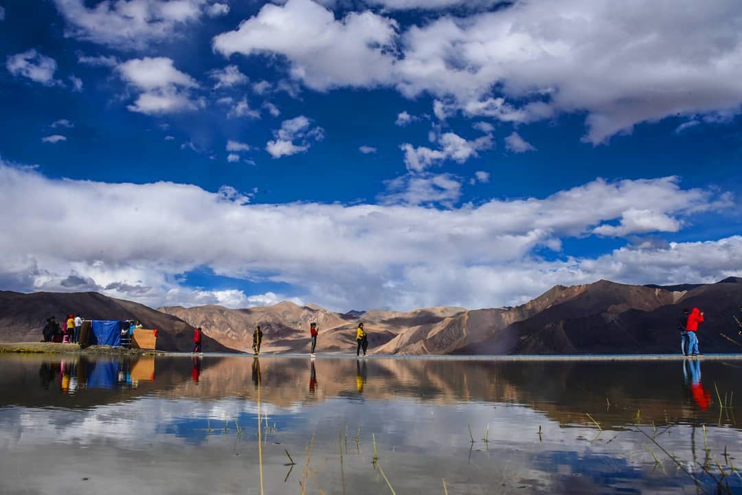 Photo of Pangong Lake By Shutter Up Fotografia