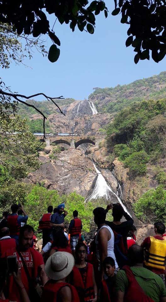 Photo of Dudhsagar Waterfall Camp Site By Ravi Bajwan