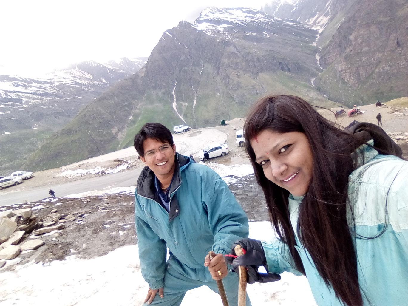 Photo of Rohtang Pass By Deepti Rahul Agarwal