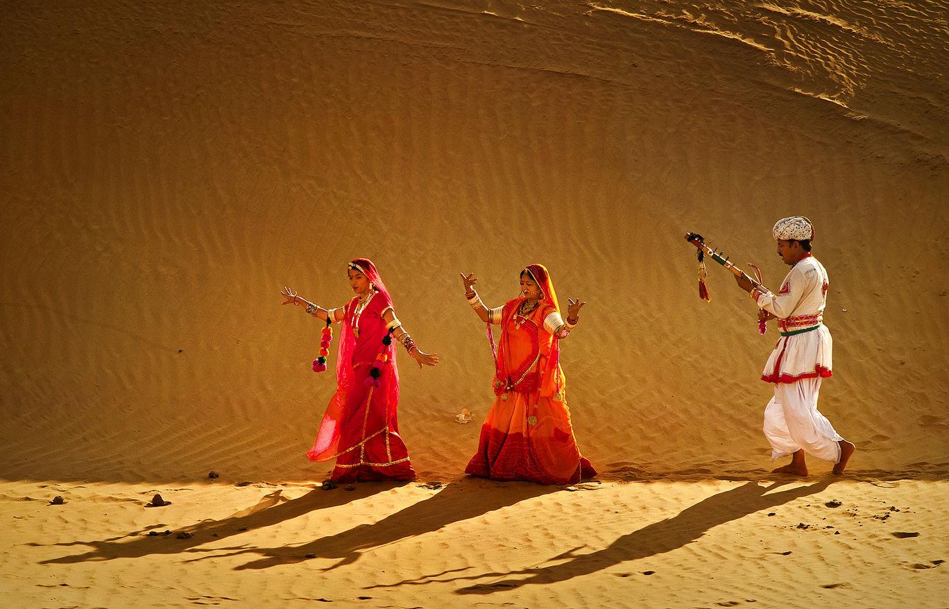 Photo of Sam desert Jaisalmer By Pranab Basak
