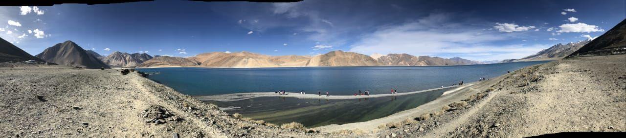 Photo of Pangong Lake By Vaishali Suraj Mehrotra