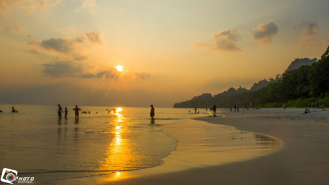 Photo of Radhanagar Beach By Purnendu Bagchi