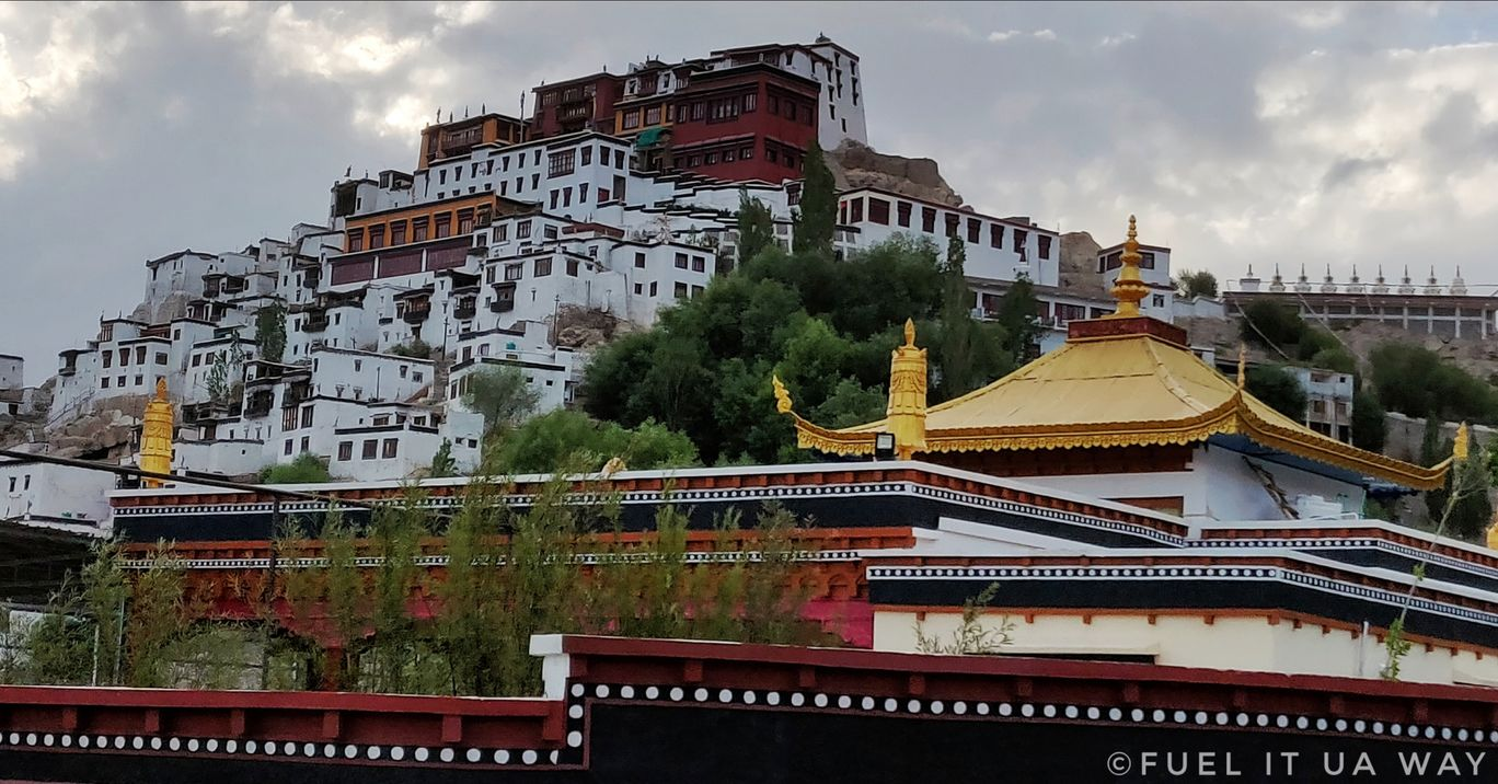 Photo of Thikse Monastery By Fuelit Ua Way