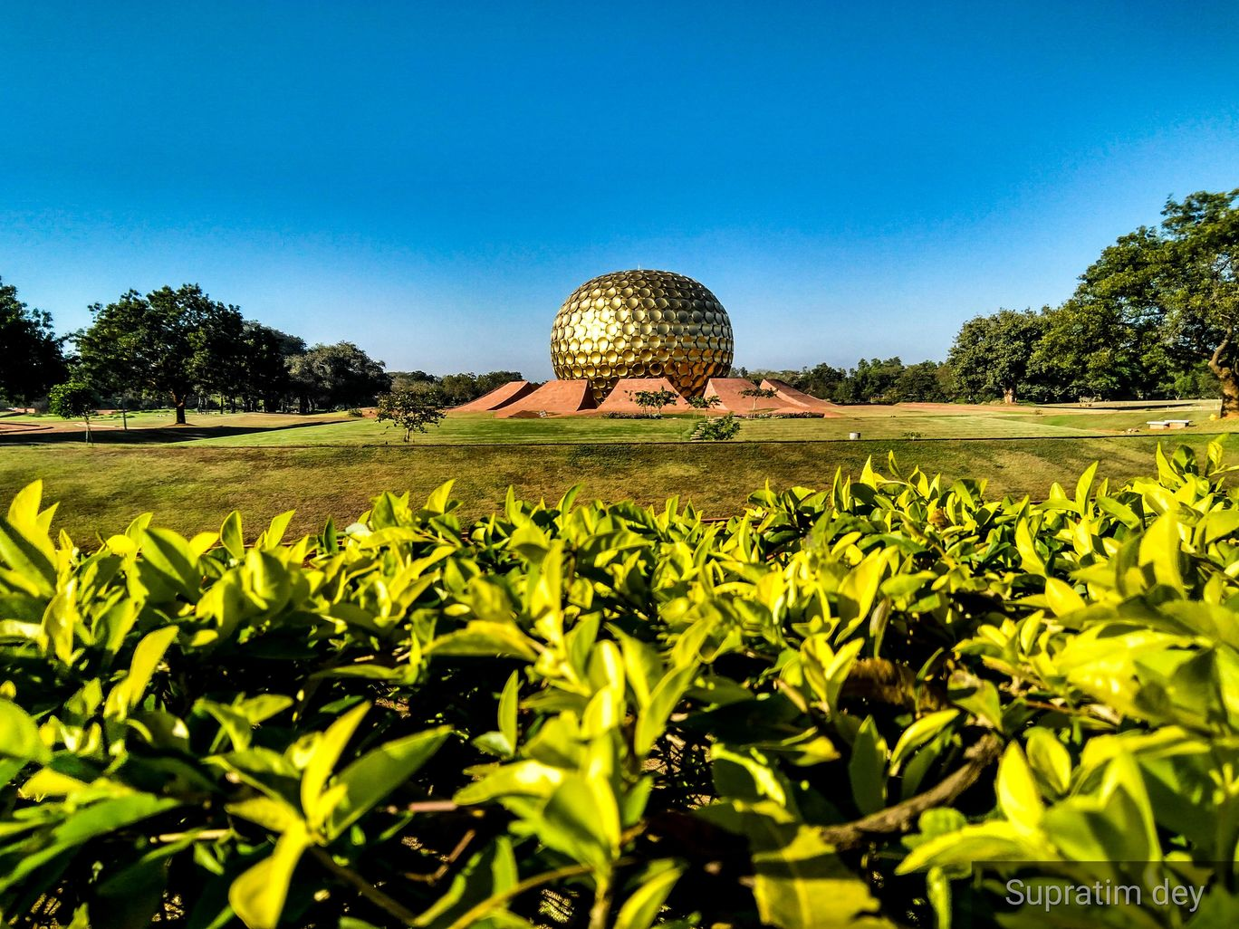 Photo of Auroville By Supratim Dey