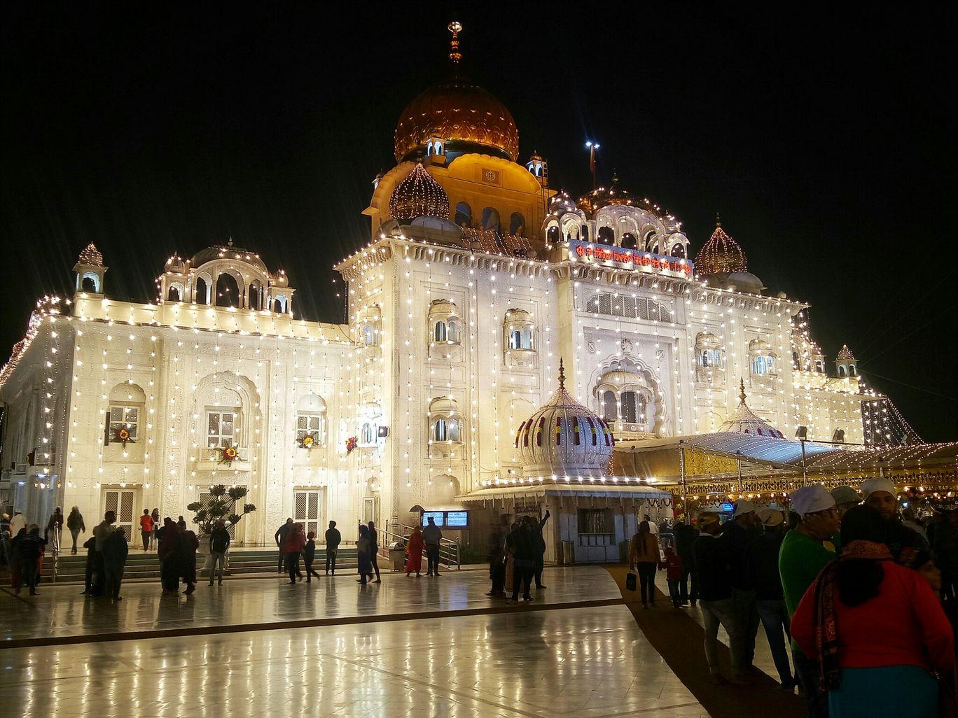 Photo of Gurudwara Bangla Sahib By Saahiil Sharma