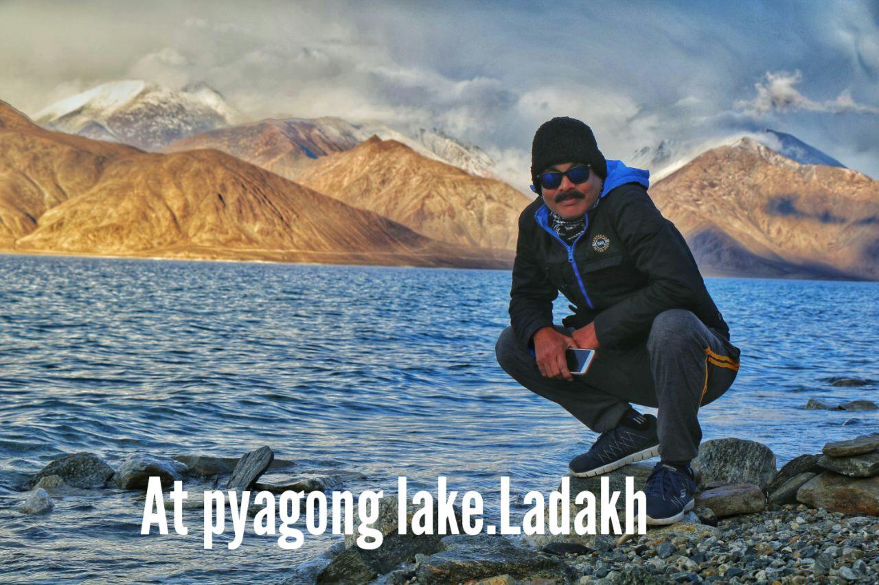 Photo of Pangong Lake By Govind Pani