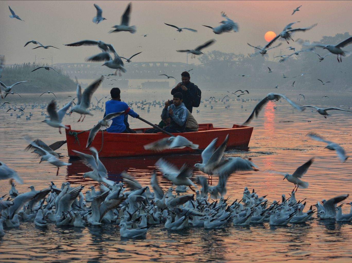 Photo of Yamuna Ghat By Kiran Sharma
