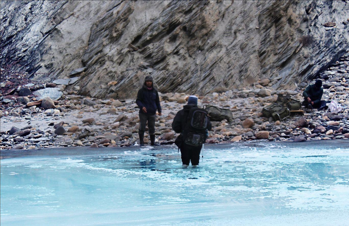 Photo of Chadar trek - Trekking In Ladakh - Frozen River Trekking In Ladakh By Aditya Pujare