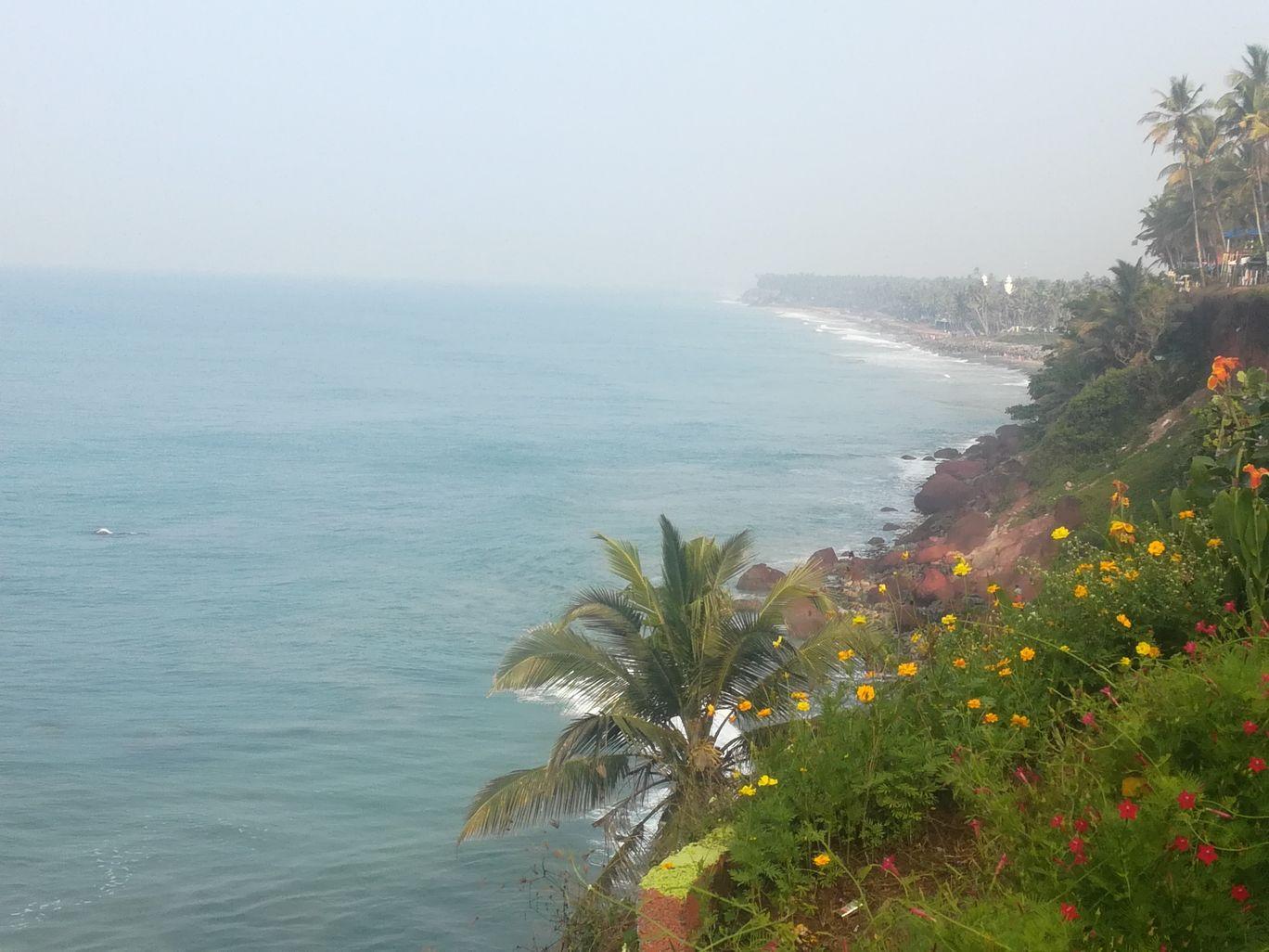 Photo of Varkala cliff By Suraj Kumar Manohara