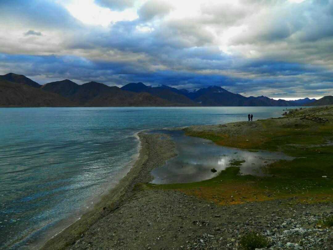 Photo of Pangong Lake By Sahil Shah
