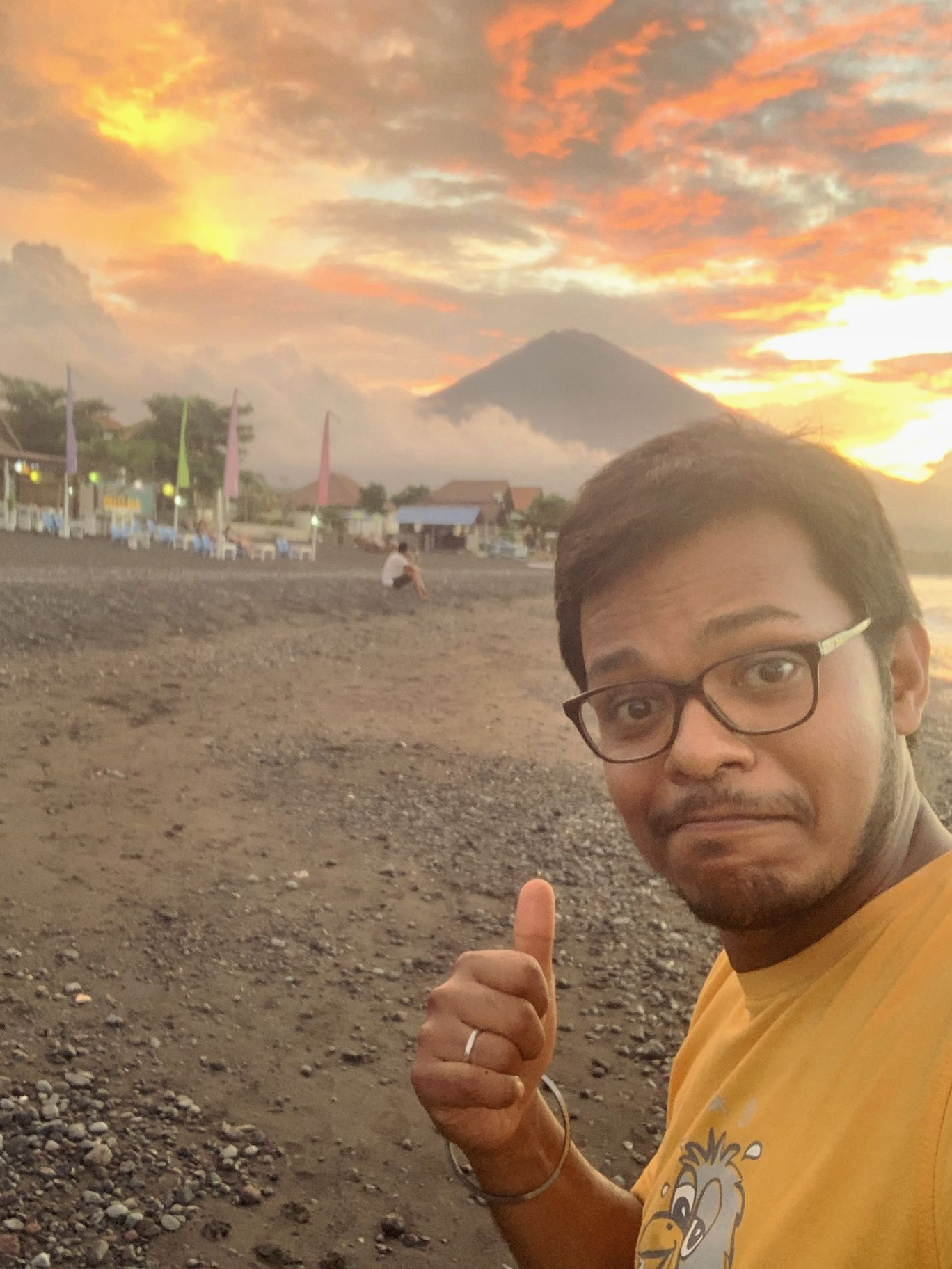 Photo of Mount Agung By Manish Deo