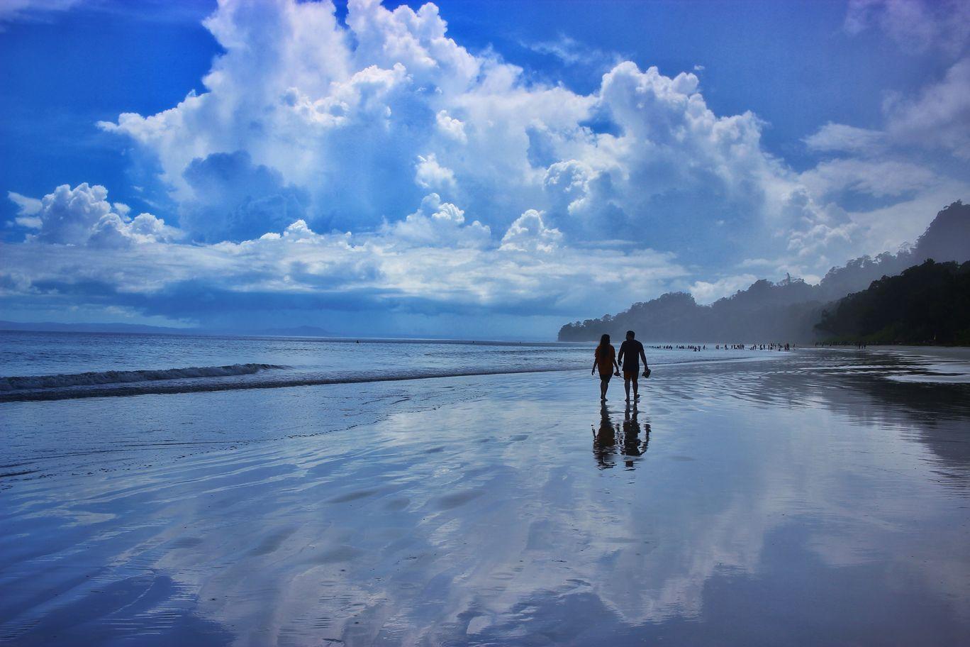Photo of Radhanagar Beach By Neha Majumder
