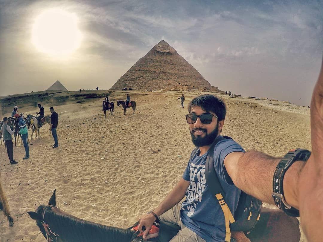 Photo of The Pyramids Of Giza By Digvijay Patil
