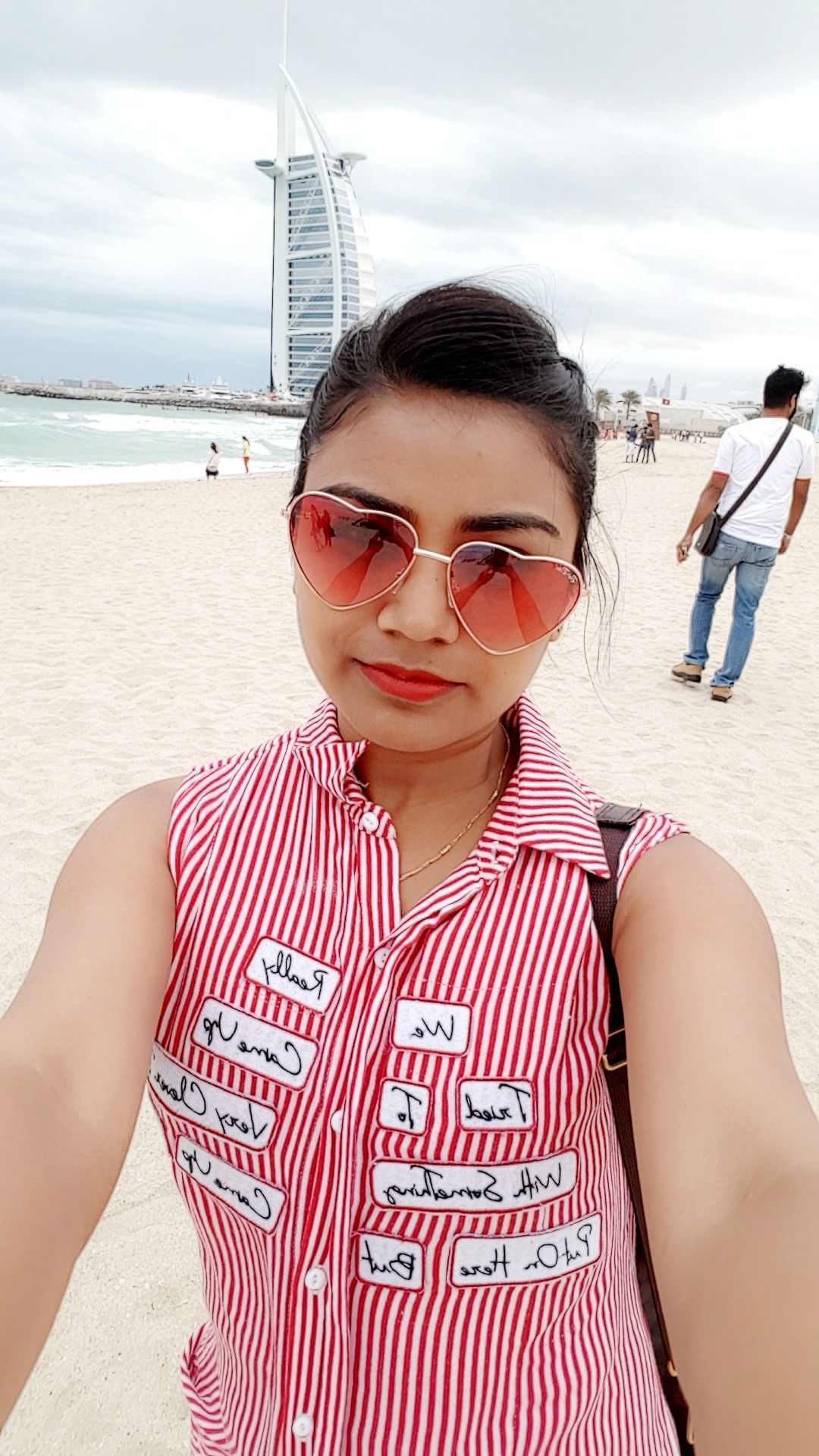 Photo of Jumeirah Beach near Burj Al Arab - 2 C Street - Dubai - United Arab Emirates By Ashika Jain
