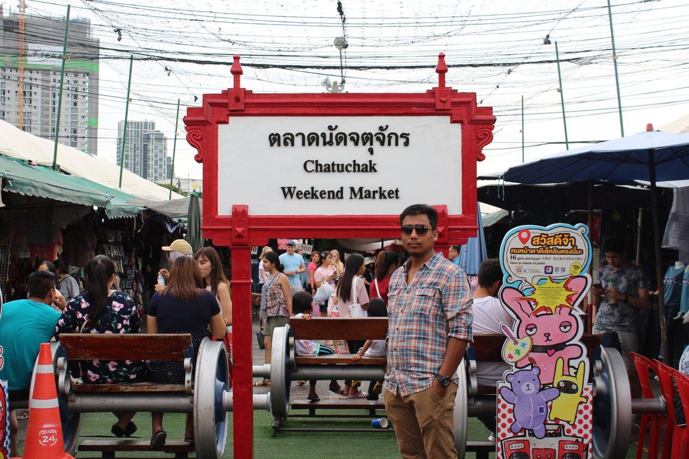 Photo of Chatuchak Weekend Market; Bangkok By NIRUPAM BORGOHAIN