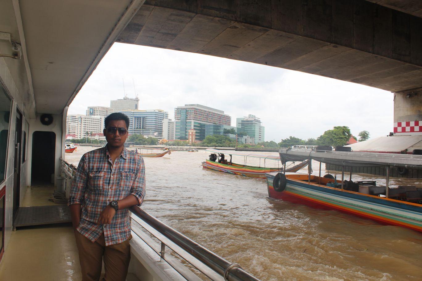 Photo of Chao Phraya River Cruise; Bangkok By NIRUPAM BORGOHAIN