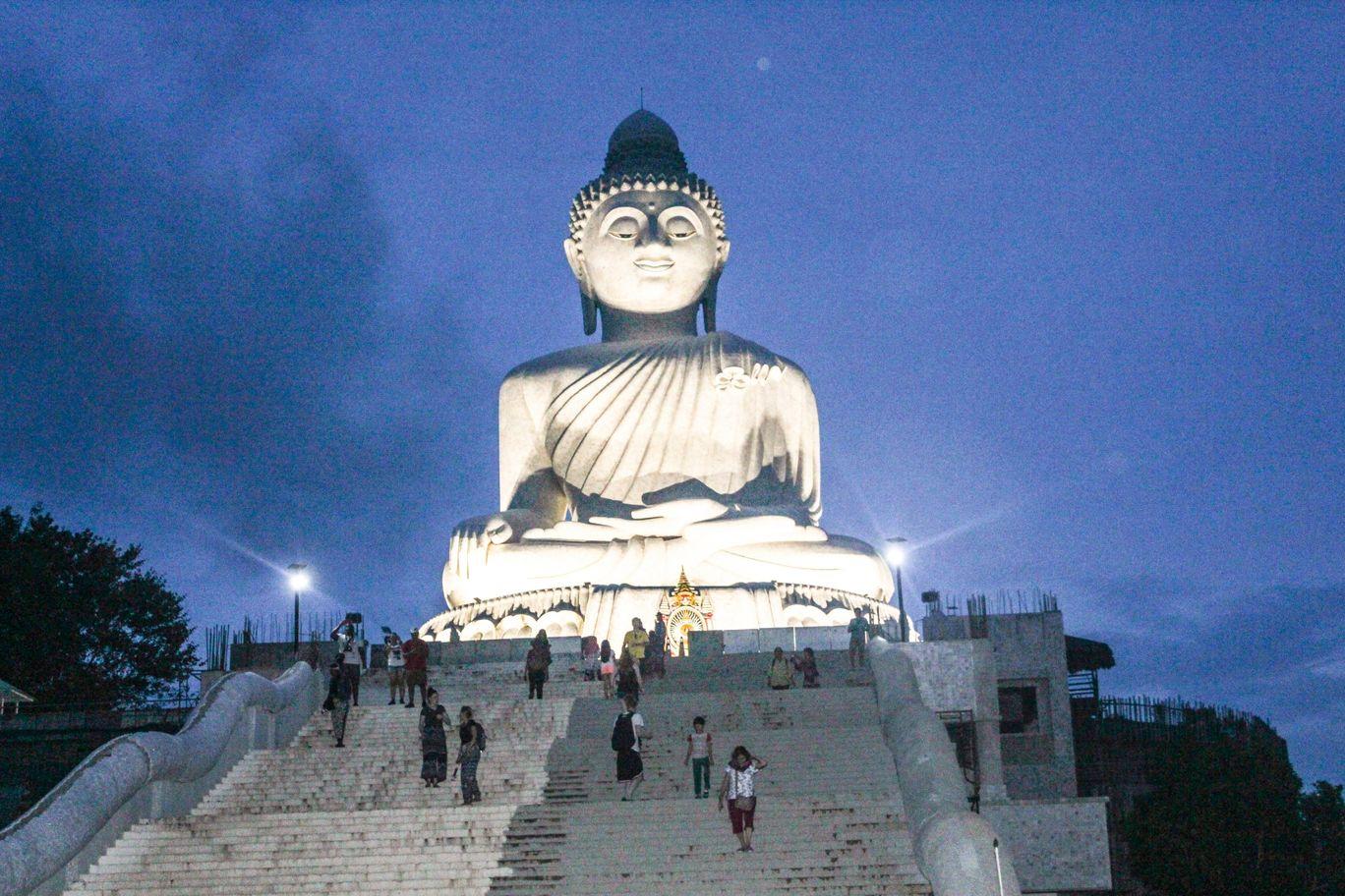 Photo of Big Buddha; Phuket By NIRUPAM BORGOHAIN