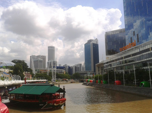 The Singapore River Cruise: Journey along the Singapore River