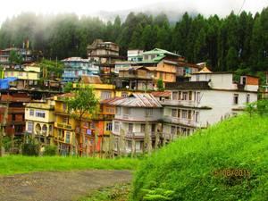 Through the Streets of Ravangla Sikkim