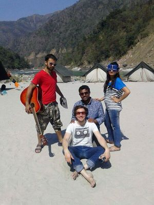 Rafting Paradise @ Rishikesh, India