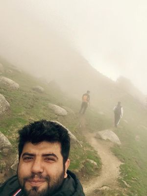 triund: 4 days of network free life...