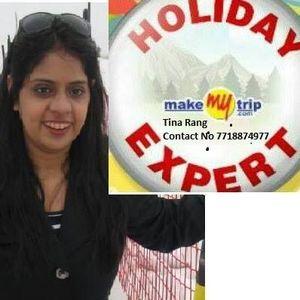 Tina Rang Travel Blogger