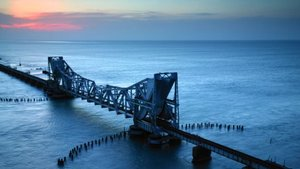 Trip to world's longest temple corridors – Rameswaram