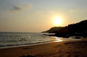 Where sun kisses the sea!! Gokarna it is:)