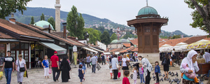 Sarajevo – Battered, yet so young at heart