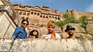 The Mehrangarh Fort of Jodhpur
